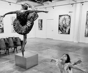 dance, art, and ballerina image