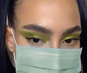 amazing, green, and makeup image