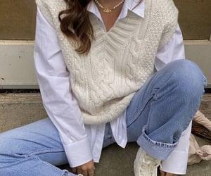 fashion, white, and autumn image
