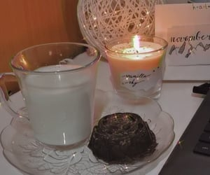 aesthetic, candle, and cozy image