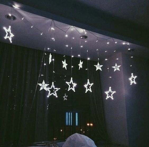 aesthetic, stars, and winter image