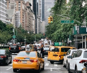 city, explore, and new york image