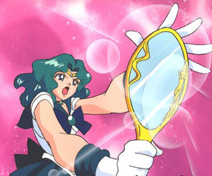 pink, sailor moon, and sailor neptune image