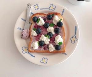 food, toast, and yummy image