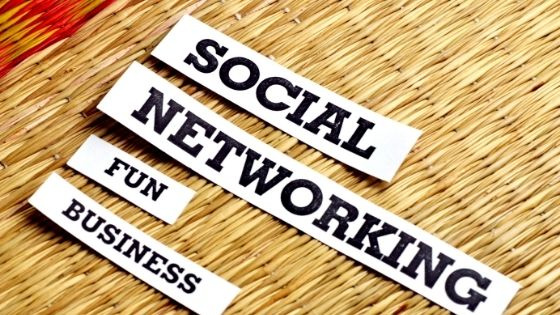 business, social media, and social networking image