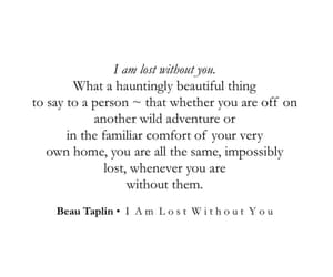 adventure, lost, and beau taplin image