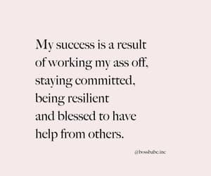 others, succes, and committed image