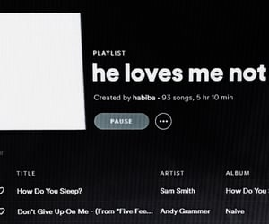 playlist, png, and spotify image