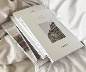 book, paris, and white image