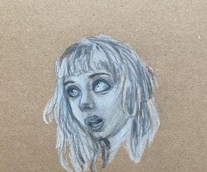 art, blackandwhite, and pencil image