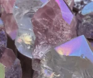 colorful, crystal, and crystals image