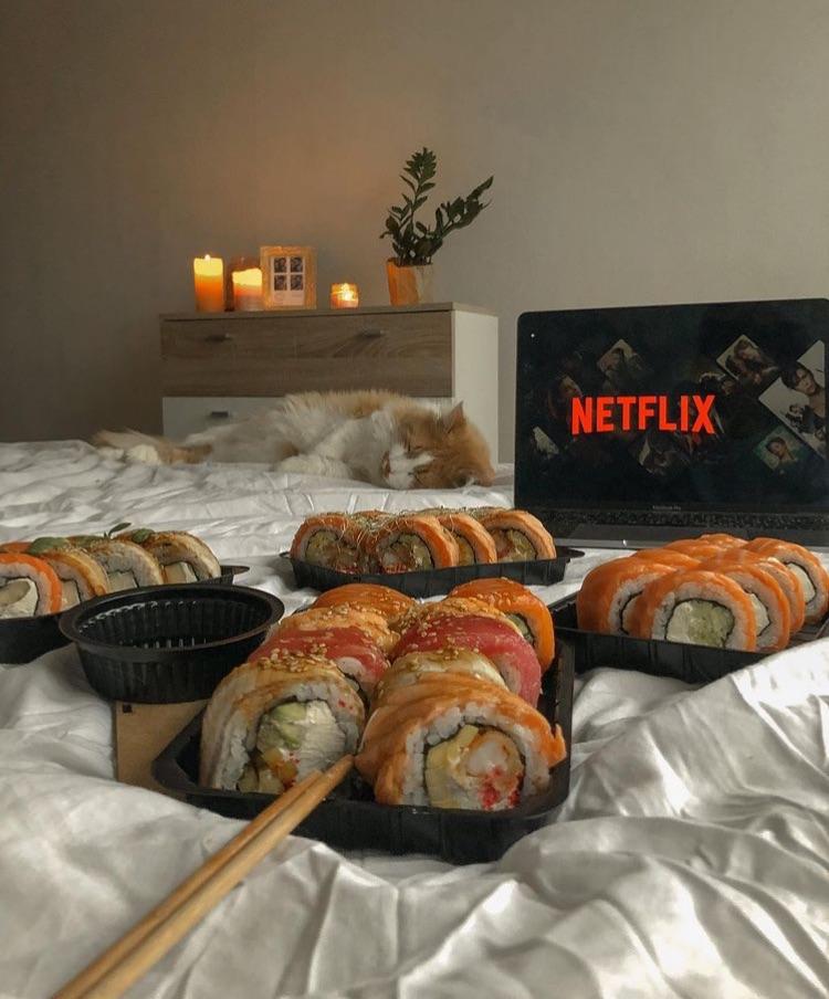 sushi and netflix image