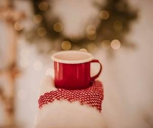 bokeh, christmas, and mittens image