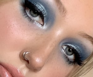 makeup, alternative, and beauty image