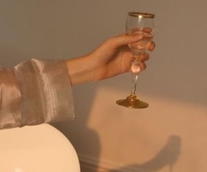 aesthetic, beige, and champagne image