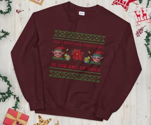 ugly sweater, end of the year, and etsy image