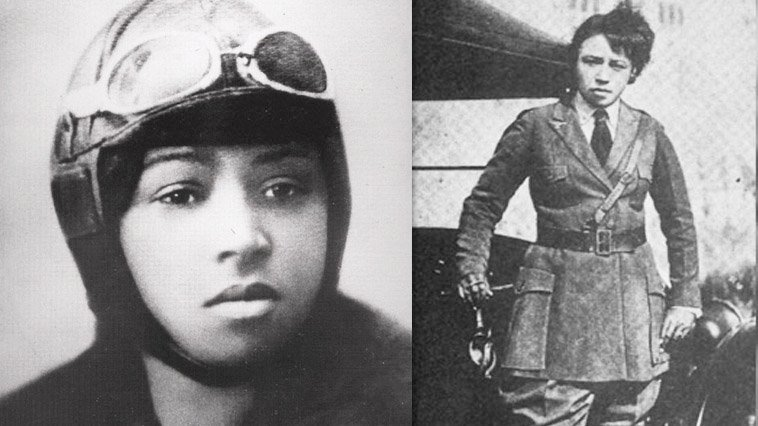 article, bessie coleman, and women in aviation image