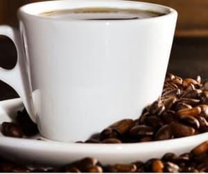 coffee love, exfoliate, and skincare routine image