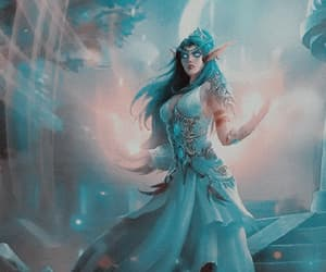 elf, games, and tyrande whisperwind image