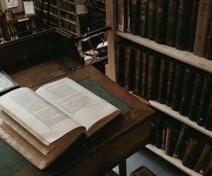 dark academia, aesthetic, and book image