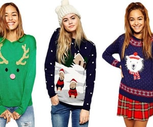 womens christmas outwear, christmas jumpers, and womens christmas tops uk image