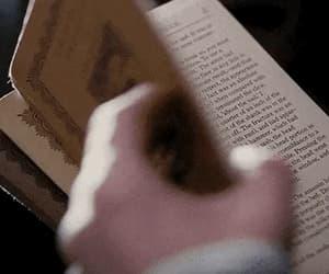 gif, literature, and dark academia aesthetic image
