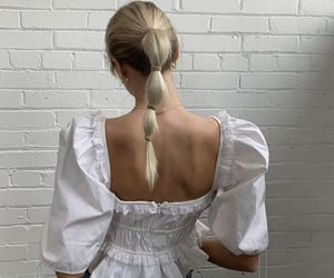 fashion, hair, and pinterest image