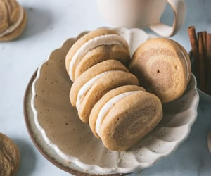 Cinnamon Roll Cookie Sandwiches - Olive and Artisan
