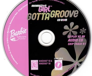barbie, cd, and disc image