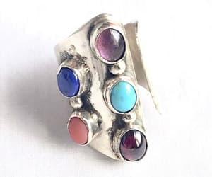 etsy, size 6 ring, and vintagevoguetreasure image