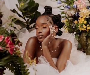 aesthetic, woman, and melanin image