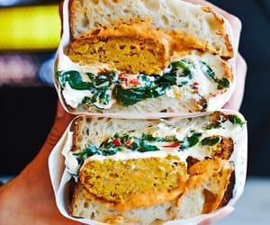 falafel, pumpkin spice, and sandwich image