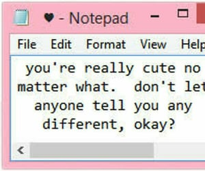 notepad, tumblr, and cute image