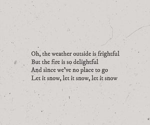 quote, snow, and words image