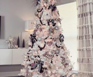christmas, decoration, and tree image