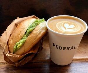 coffee, enjoy, and food image