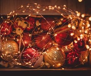 christmas, christmas lights, and happy new year image