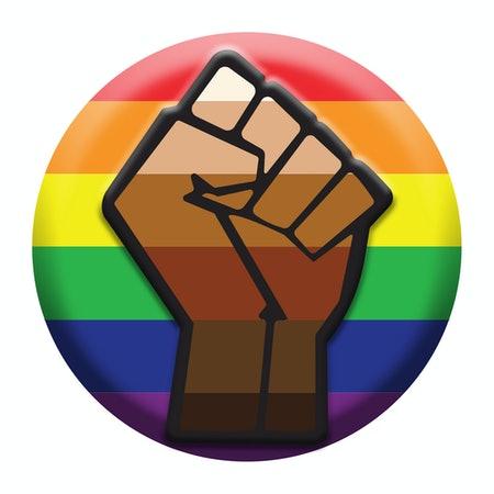art, colors, and lesbian image