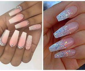 nail arts, nailpolish, and nails image