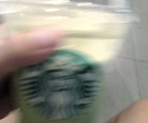 aesthetics, blur, and greentea image