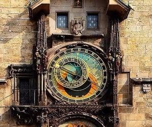 clock, prague, and astronomical image