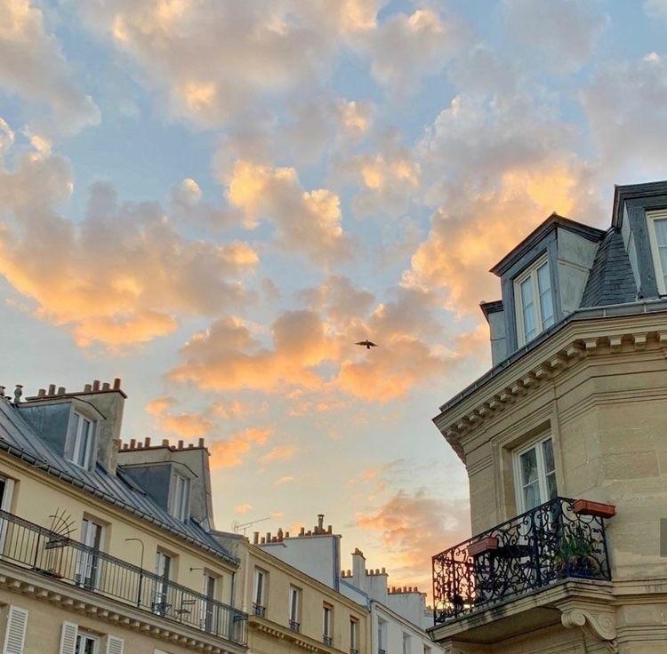 france, paris, and sky image