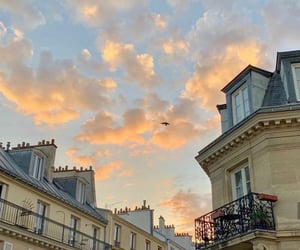sky, france, and paris image