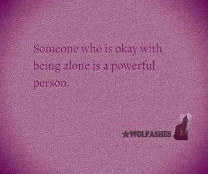 alone, person, and quote image