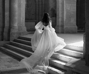 dress, castle, and princess image