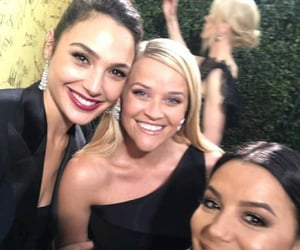 Reese Witherspoon, eva longoria, and gal gadot image
