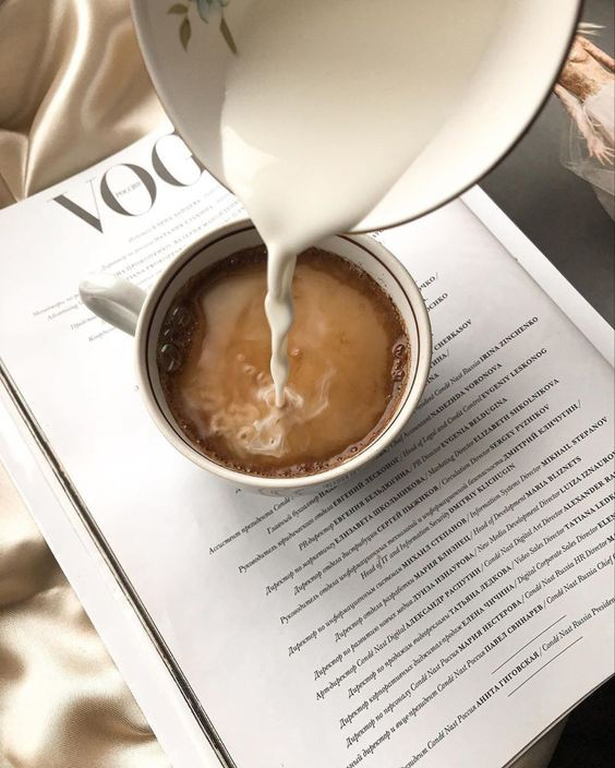 coffee, vogue, and latte image