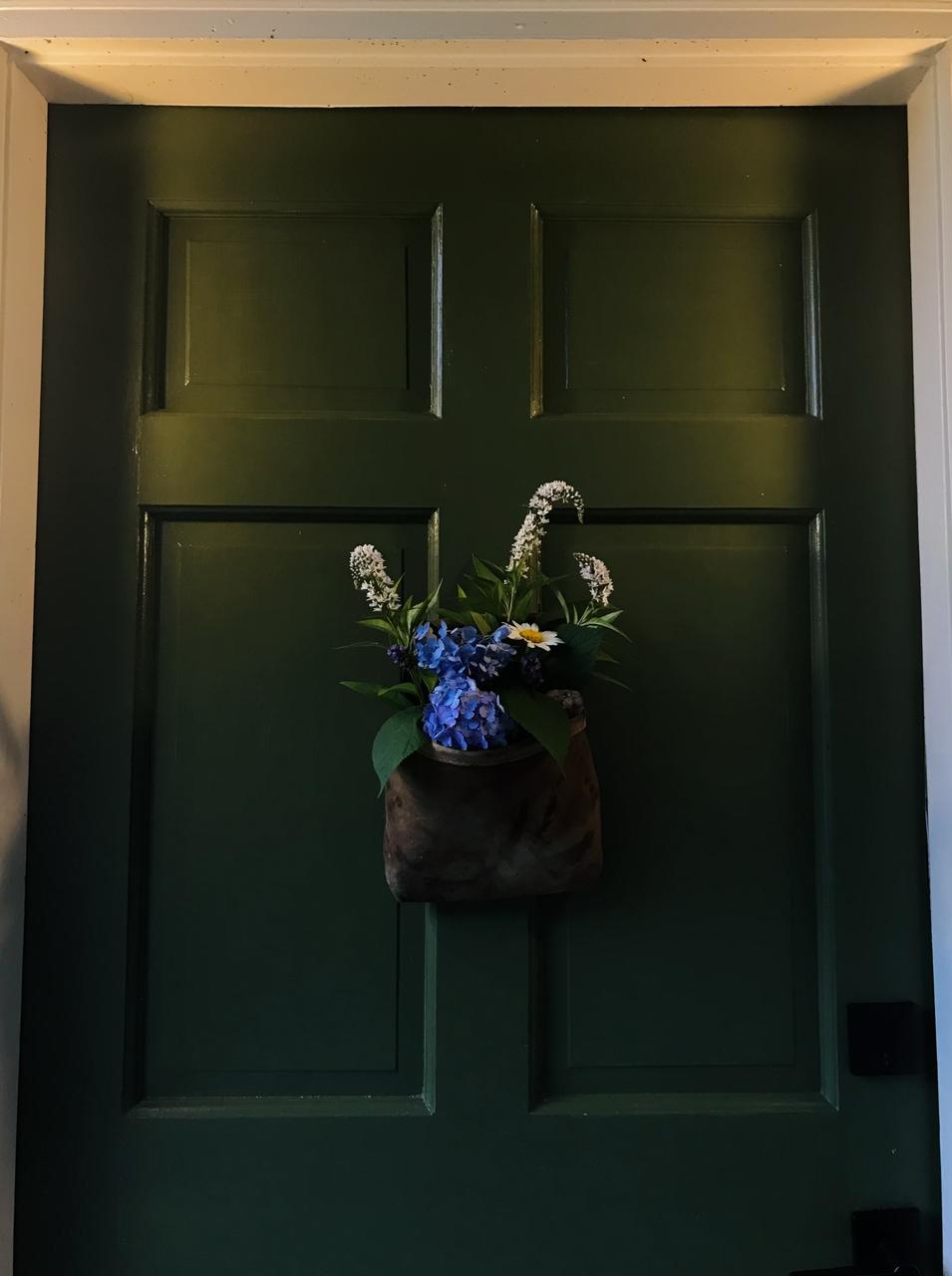 article, green, and door image