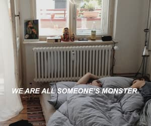 quotes and monster image