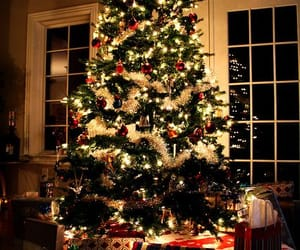 christmas, decoration, and gifts image